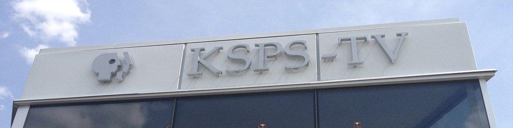 KSPS Building sign
