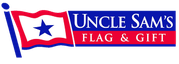 Uncle Sam's Flag and Gift