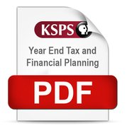 Year End Tax & Financial Planning