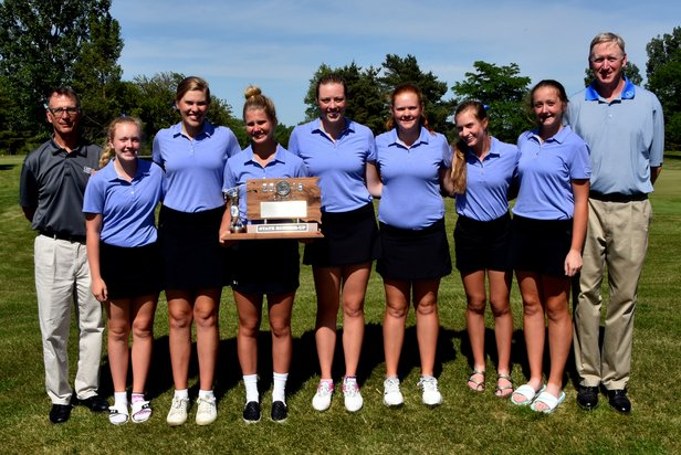 2016 Class AA Girls Golf 2nd Place - Sioux Falls O'Gorman