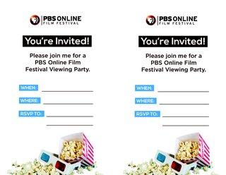 Film Festival Invitation
