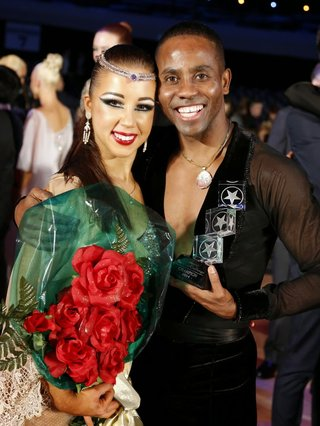 Emmanuel Pierre-Antoine and Liana Churilova