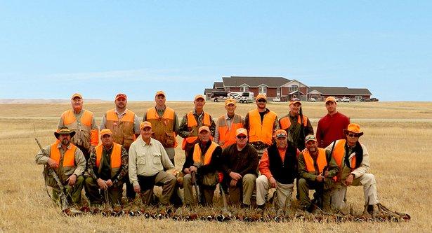 Jorgenson family hunting operation