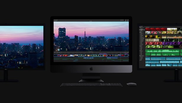 Images of the new iMac Pro