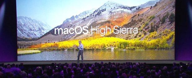 The reveal of MacOS High Sierra