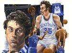 Sports artist David Blondell