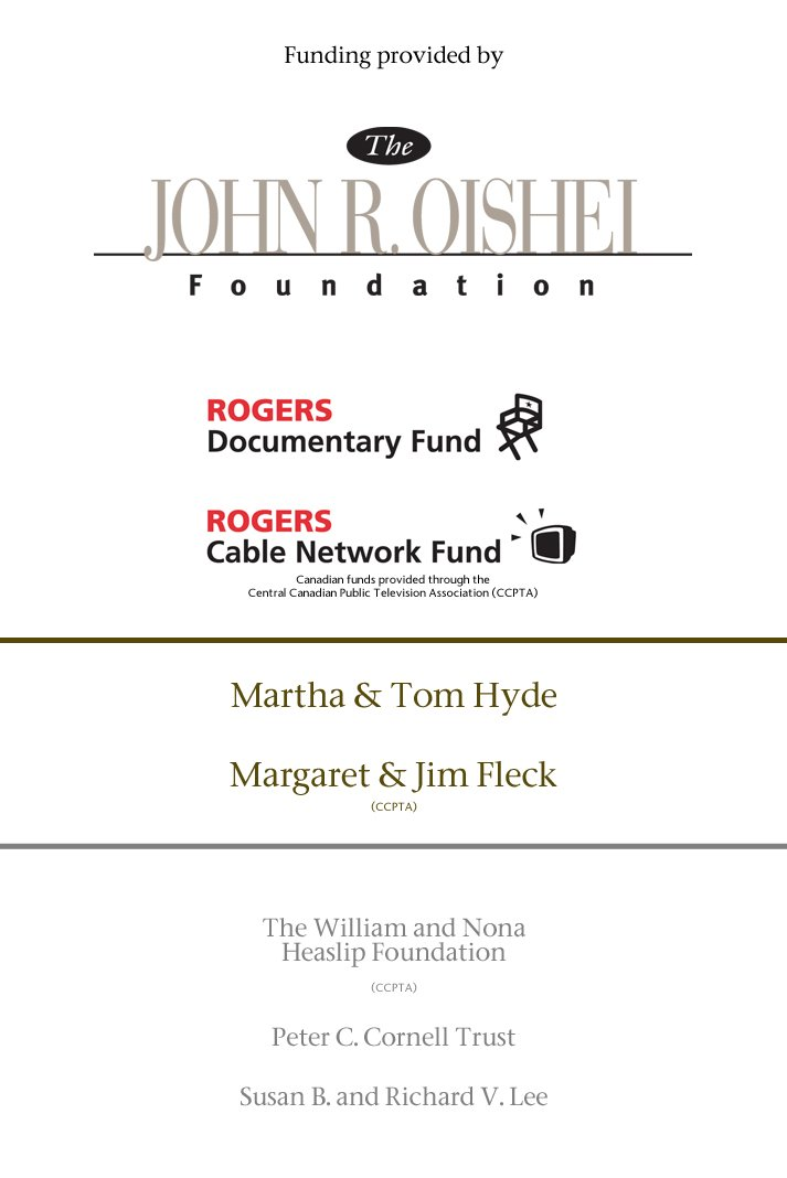 Funding for The Shaw Festival: Behind the Curtain provided by The John R. Oishei Foundation, Rogers Documentary Fund, and Rogers Cable Network Fund. Additional support from Martha & Tom Hyde, Margaret & Jim Fleck, The William and Nona Heaslip Foundation,