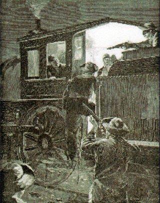 train robbers image