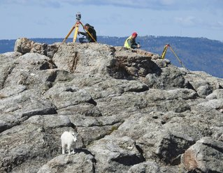 surveyors on black elk peak