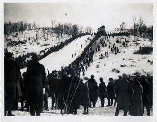 ski hill 1912