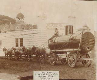 heavy freight wagon
