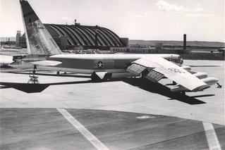 first b-52 at Ellsworth