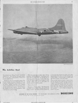 ad for boeing B-17