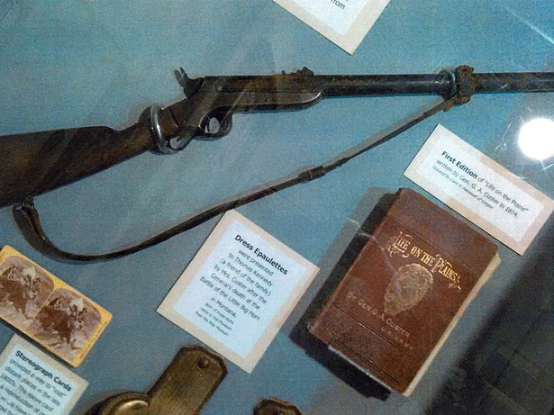 photo of custer memorabilia