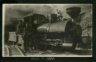 J.B. Haggin Locomotive - 1906