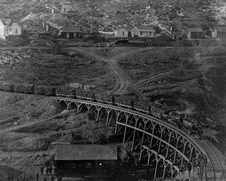 Homestake Gold Mine Ore Train