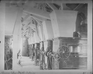 Interior, Queen Bee Mill, ca. 1890