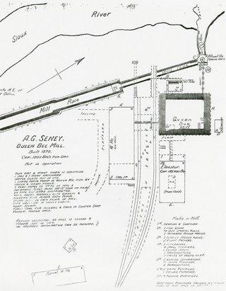 Mill race map