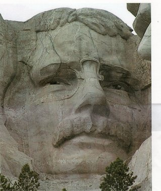Teddy Roosevelt - mount Rushmore