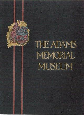 Adams Museum brochure