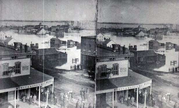 Yankton flooding 1881