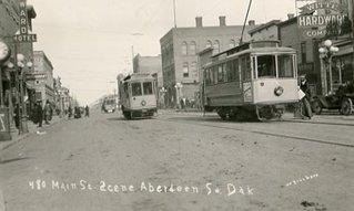 double tracks on main street