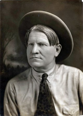 portrait of charlie russell
