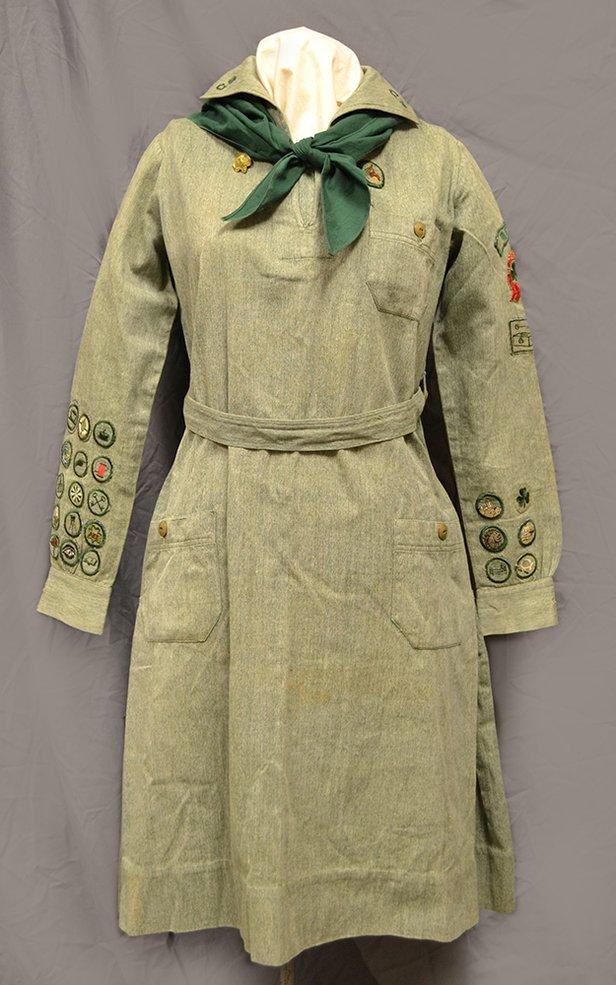 1930s Girl Scout Uniform