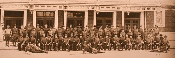 Home guard troops in Sioux Falls