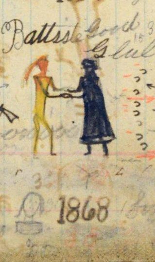 1868 winter count glyph