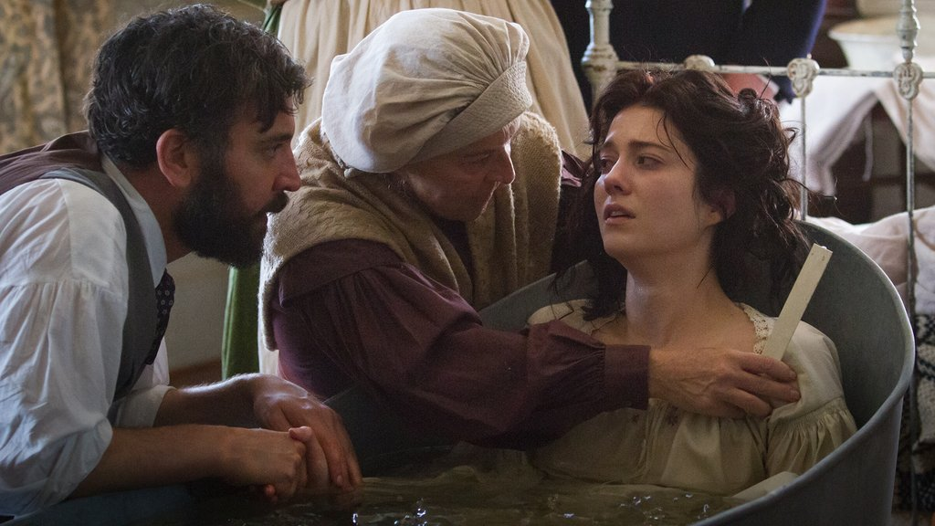 Dr. Foster, Matron Brannan and Nurse Mary as seen in Episode 201