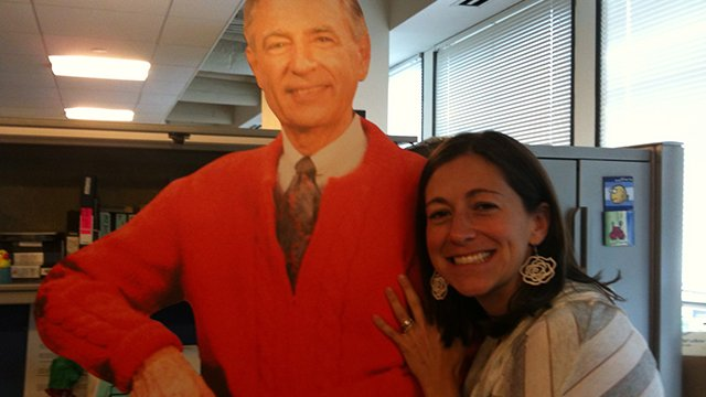 Post your own photo in the Mister Rogers photo stream