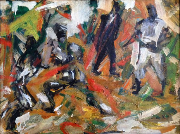 """Out,"" Elaine de Kooning"