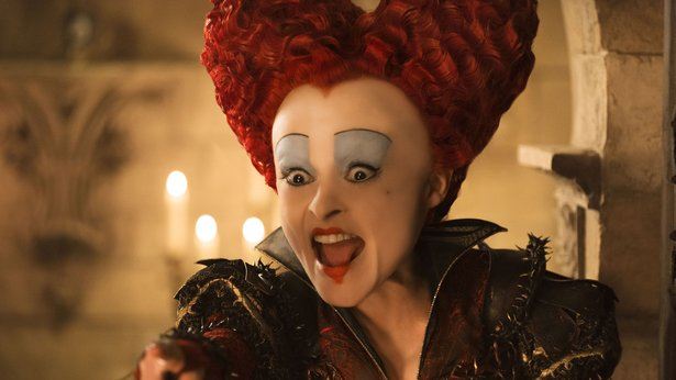 "Helena Bonham Carter as the Red Queen in ""Alice Through the Looking Glass"""