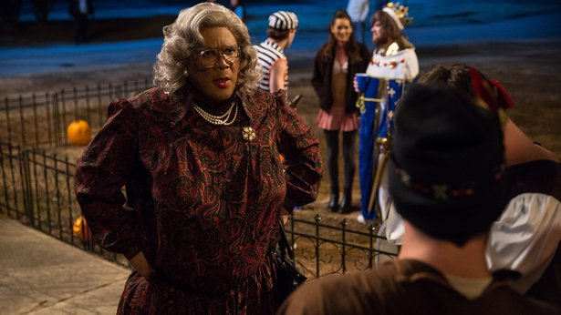 "Tyler Perry stars in (and wrote and directed) ""Boo! A Madea Halloween."""