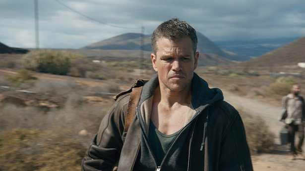 "Matt Damon is back in action in ""Jason Bourne."""