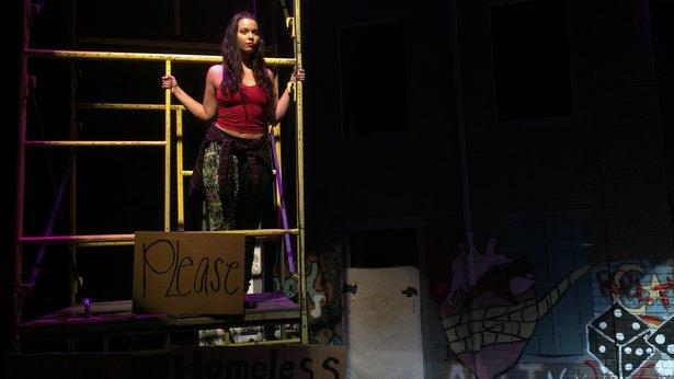"Madeleine Hale stars as an aspiring singer in West Texas A&M University's ""Brooklyn,"" opening Thursday."