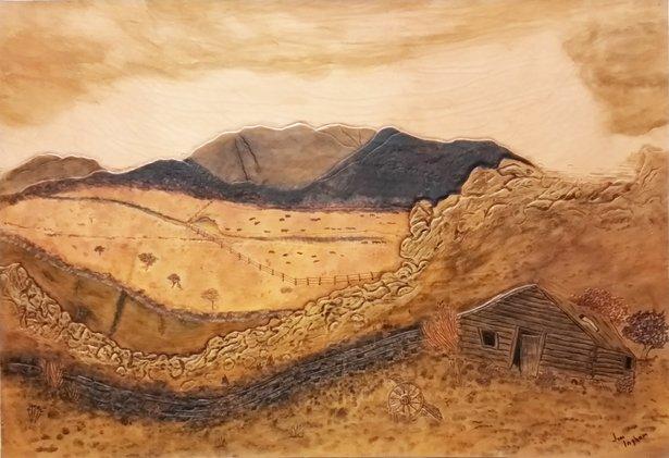 """The Old Rimrock Railway"" by Jim Ingham"