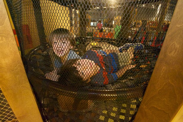 Children play and learn at the Don Harrington Discovery Center.