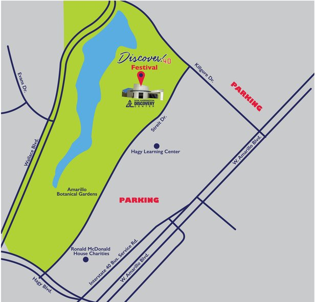 Where to park at Discover! 4.0