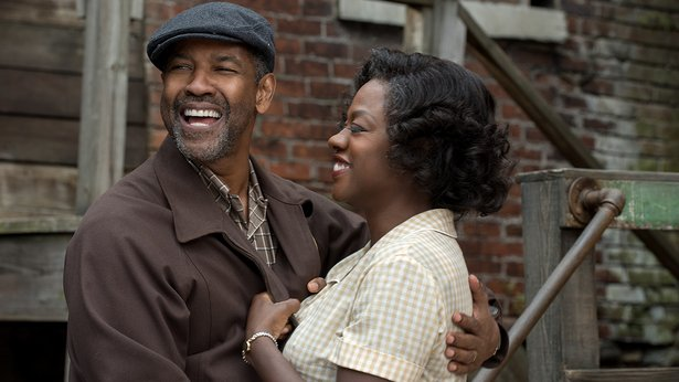 """Denzel Washington and Viola Davis star in """"Fences,"""" a film adaptation of the August Wilson play."""