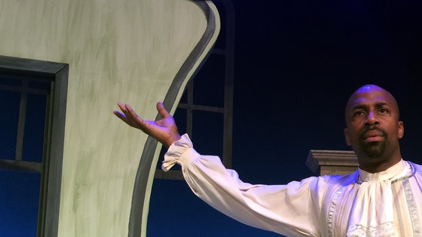 "Darren K. Stokes stars as the title character in Amarillo Opera's ""The Marriage of Figaro."""