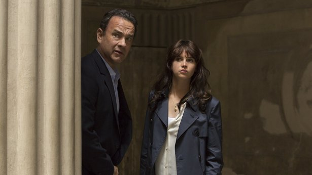 "Tom Hanks and Felicity Jones star in ""Inferno."""