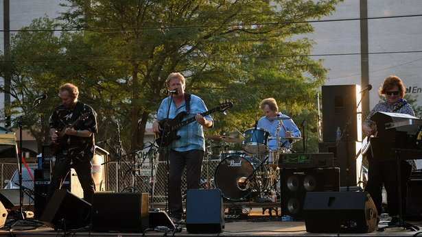 Insufficient Funds will perform for the last High Noon on the Square of the summer.