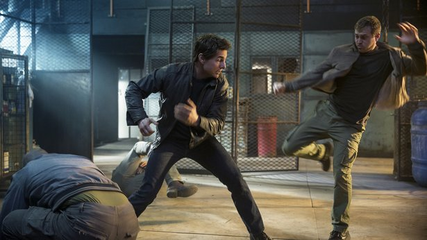 "Tom Cruise stars in ""Jack Reacher: Never Go Back,"" opening Friday."