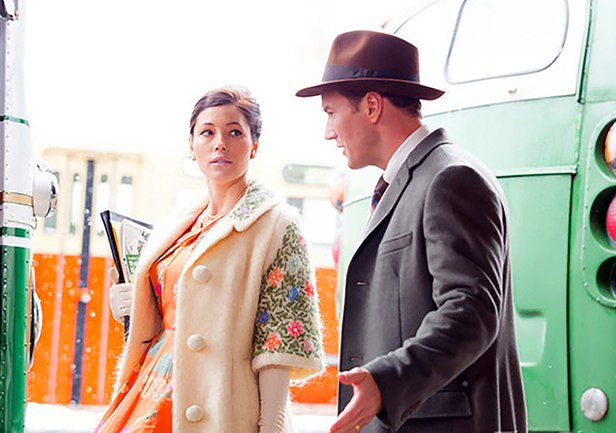 """Jessica Biel and Patrick Wilson star in """"A Kind of Murder,"""" based on a Patricia Highsmith novel, """"The Blunderer."""""""