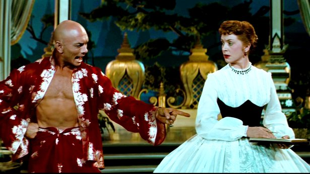 "Yul Brynner and Deborah Kerr star in ""The King and I,"" which gets a 60th anniversary screening Sunday and Wednesday."