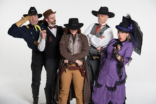 Lagniappe Productions will perform for a Wild West murder mystery dinner at Panhandle-Plains Historical Museum.