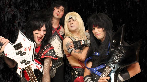 Mötley Crüe tribute act Looks 2 Kill will play Midnight Rodeo on Friday.