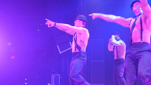 """""""Magic Men Live"""" takes inspiration from the """"Magic Mike"""" movies and adds its own twist."""